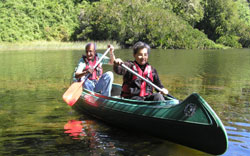 Canoe trips for the family