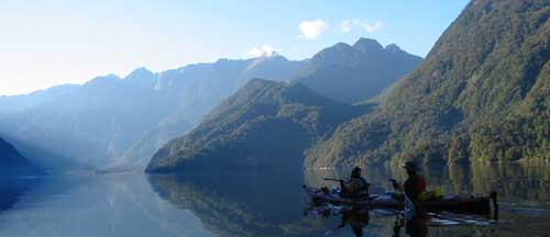 seakayaking Northern Patagonia Fiords
