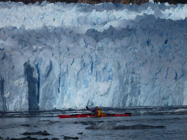 kayaking San Rafael Glacier expedition