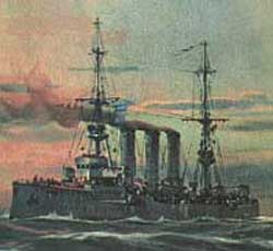 Dresden German Destroyer - World War I