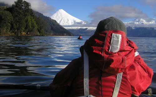 Seakayak trips  in Winter